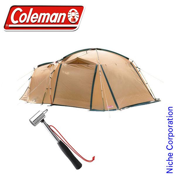 コールマン タフスクリーン2ルームハウス・ペグハンマーセット SET-201706D キャンプ用品 テント タープ