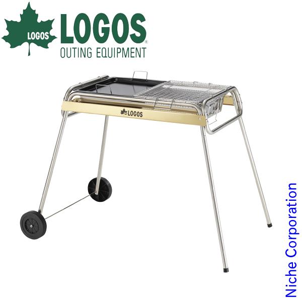 ロゴス バーベキューコンロ eco-logosave チューブラル キャスター/G80XXL BBQ キャンプ