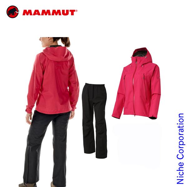 マムート CLIMATE Rain-Suits Women 1010-26560 sl-1902-top アウトレット セール sale