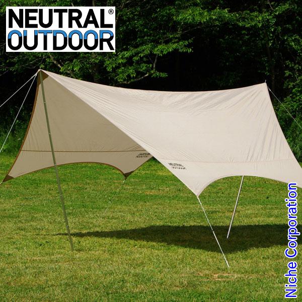 ニュートラルアウトドア GEタープ 23459 テント キャンプ用品 アウトドア用品