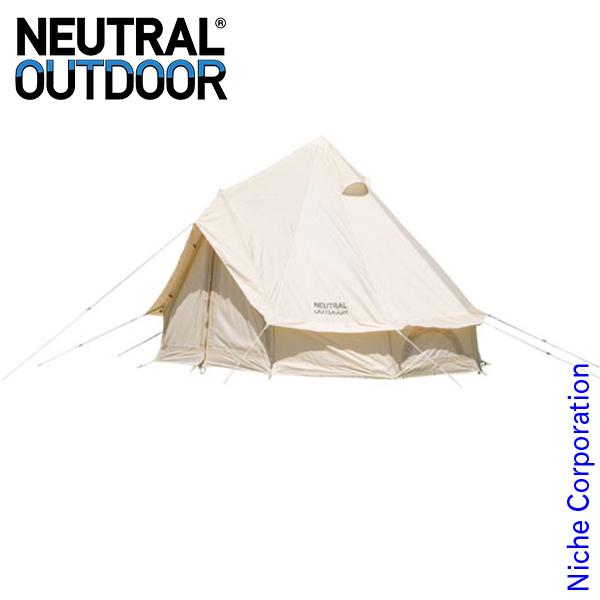 ニュートラルアウトドア GE テント 2.5m 23456 コンパクトキャンプ用品 ワンポールテント