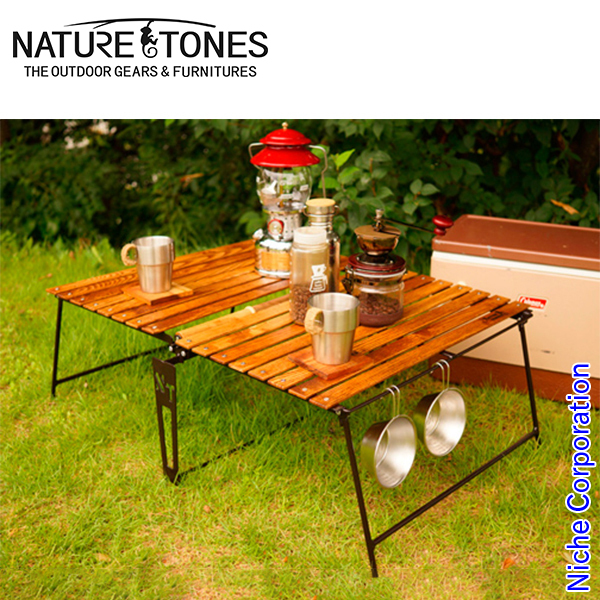 ネイチャートーンズ イージーピクニックテーブル L [ EPT-L ] アウトドア テーブル キャンプ