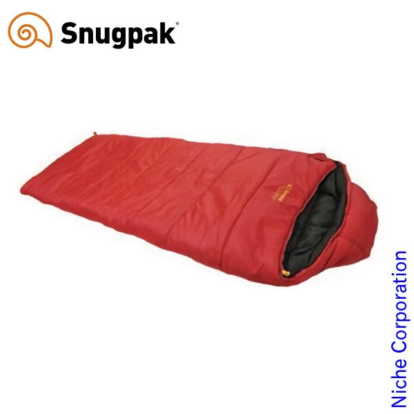 スナグパック ( Snugpak ) スリーパーエクスペディション スクエア レッド) [ 125021 ] シュラフ 化繊 フルジップ