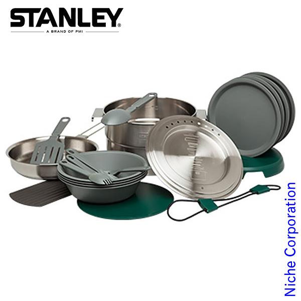 スタンレー ベースキャンプクックセット (シルバー) 02479-004 クッカー 調理 セット アウトドア用品