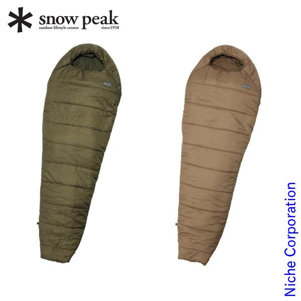 スノーピーク ミリタリースリーピングバッグ BDD-050 キャンプ用品