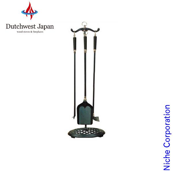 ツールセット ( ブラックハンドル仕様 ) [ VTC3490B ] お手入れ ツール ハンガー 薪 薪ストーブ アクセサリー 暖炉