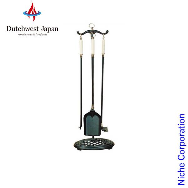 ツールセット ( セラミックハンドル仕様 ) シルバー仕様 [ VTC3490S ] お手入れ ツール ハンガー 薪 薪ストーブ アクセサリー 暖炉