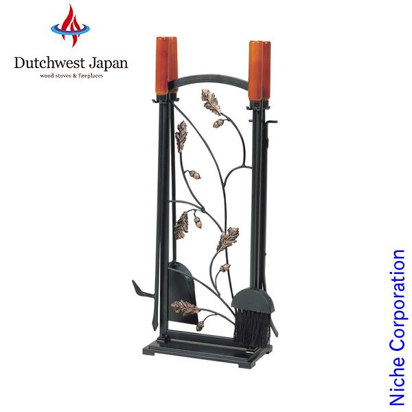 オークリーフ ツールセット [ PA8296 ] ツール ハンガー 薪 薪ストーブ アクセサリー 暖炉