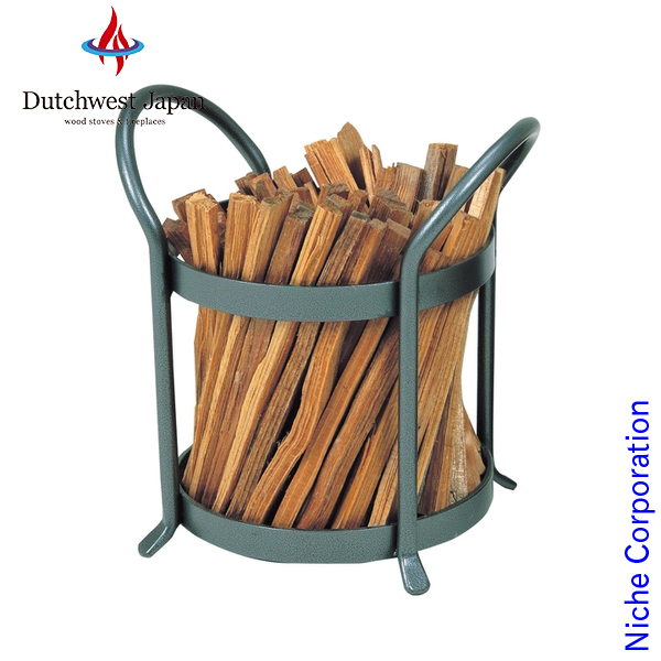 Niche Corporation Vintage Fat Wood Holder Pa8374 Log Rack