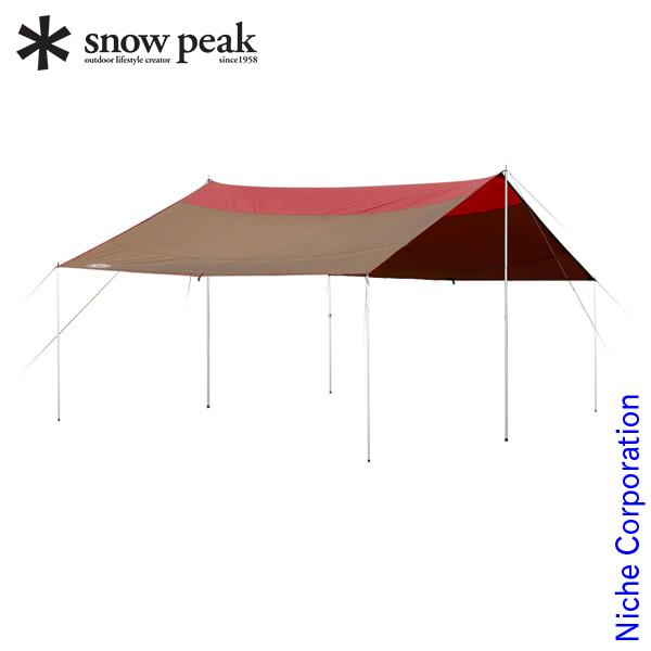 スノーピーク *雪峰祭限定* クラシックタープ レクタL FES-102 キャンプ用品 nocu 冬キャンプ