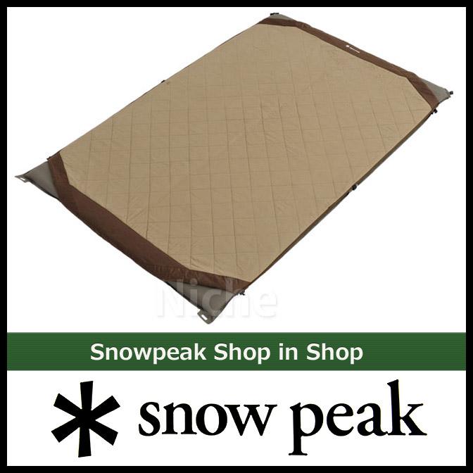 スノーピーク グランドオフトン ダブル マットカバー BD-054 SNOW PEAK スノーピーク シュラフ オプション 寝袋 シュラフ マット カバー [P5] nocu キャンプ用品
