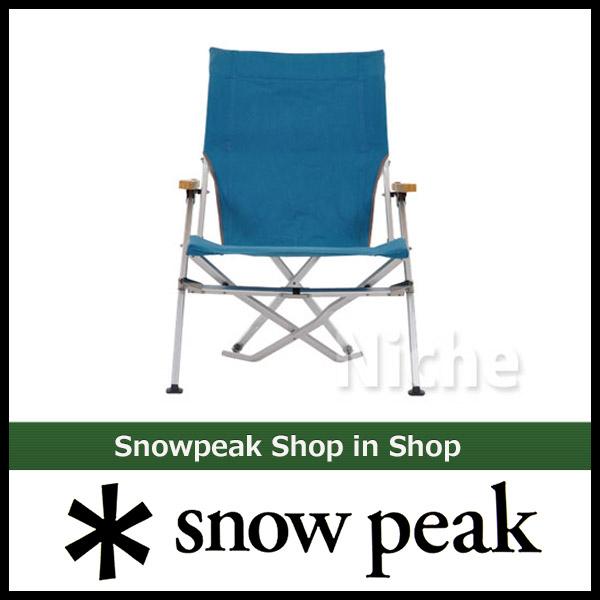 [廃番倉庫]SNOW PEAK低椅子30三鯉魚[LV-090TQ][nocu]