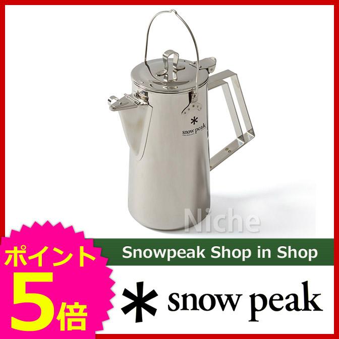 スノーピーク クラシックケトル1.8 CS-270 snow peak スノーピーク [P5] キャンプ用品