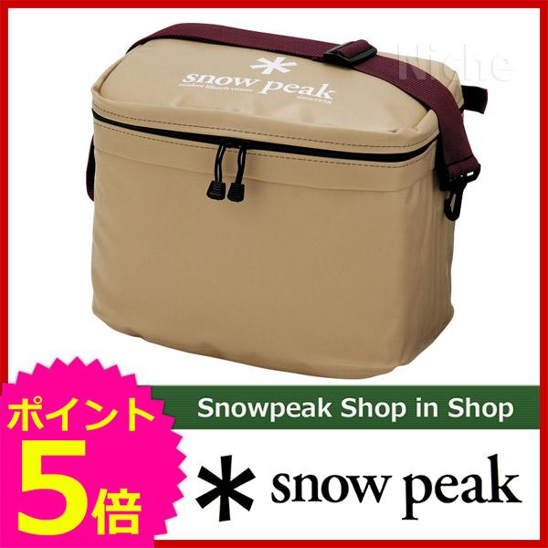スノーピーク ソフトクーラー18 FP-118 スノー ピーク ShopinShop | キャンプ 用品 オートキャンプ 用品| SNOW PEAK [P5] 保冷バッグ キャンプ用品