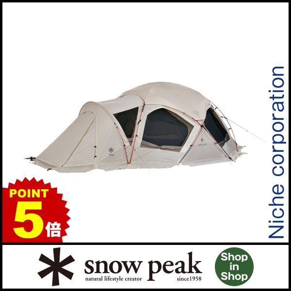 スノーピーク ドックドーム Pro.6 アイボリー SD-507IV [P5] キャンプ用品