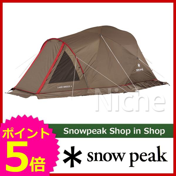 スノーピーク ランドブリーズ4 SD-634 [P5] キャンプ用品
