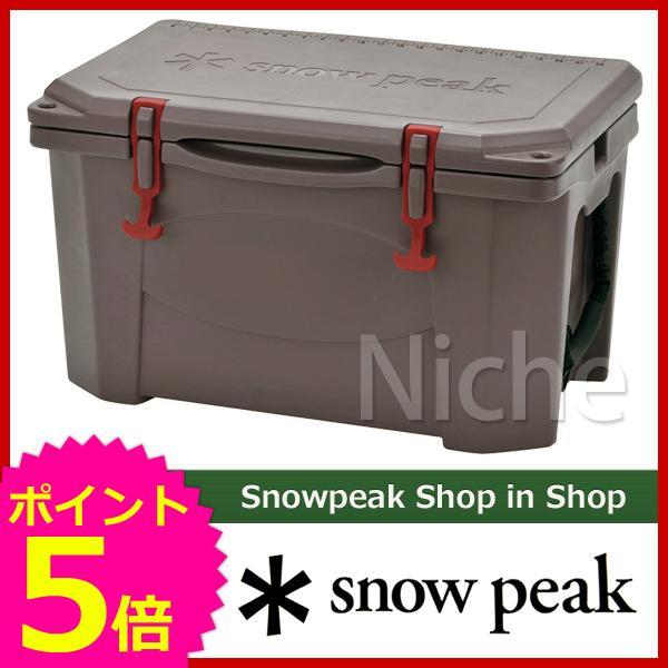【即納】 スノーピーク ハードロッククーラー 40QT UG-302GY [P5] クーラーボックス クーラー ボックス キャンプ用品