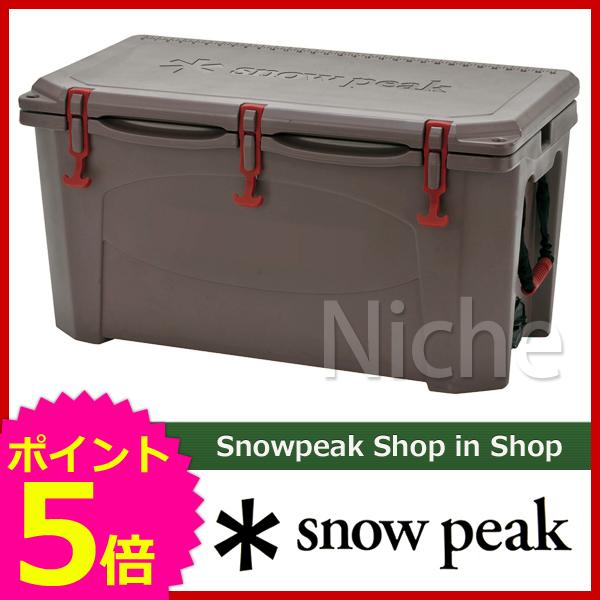 【即納】 スノーピーク ハードロッククーラー 75QT UG-303GY [P5] クーラーボックス クーラー ボックス キャンプ用品