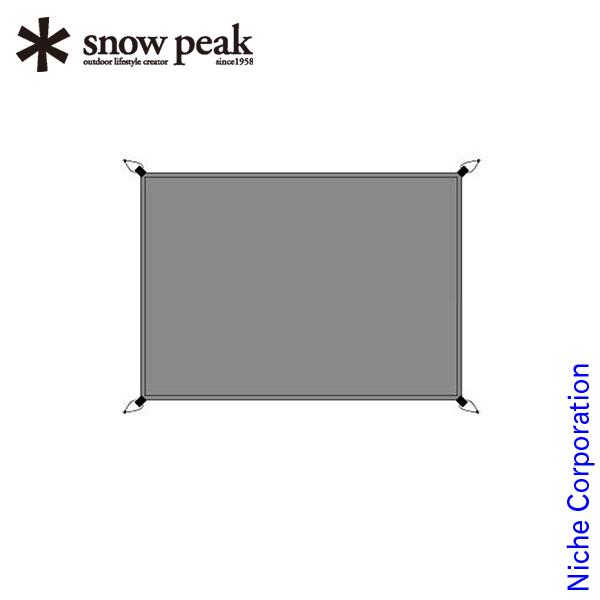 スノーピーク ファル3 グランドシート SSD-603-1 snow peak スノーピーク キャンプ用品 テント タープ