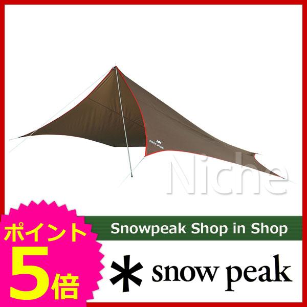 """スノーピーク ライトタープ""""ペンタ""""シールド STP-381 [P5] キャンプ用品"""