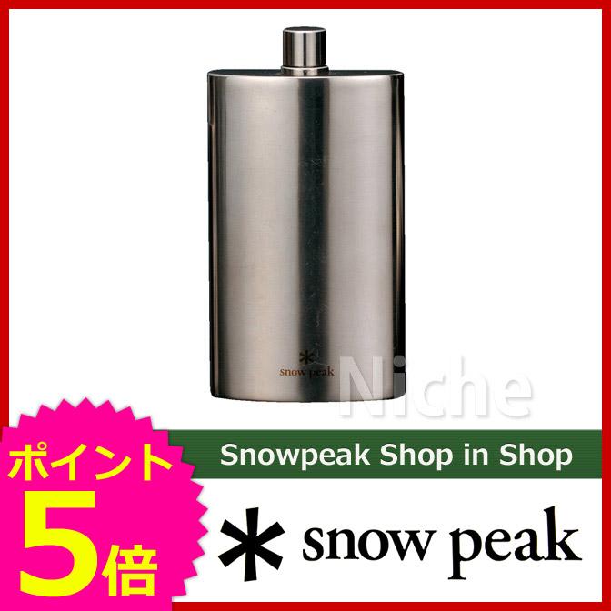 SNOW PEAK 用品 スノーピーク ピーク キャンプ オートキャンプ [P5] T-013 キャンプ用品 チタンスキットルL 用品| | スノー ShopinShop