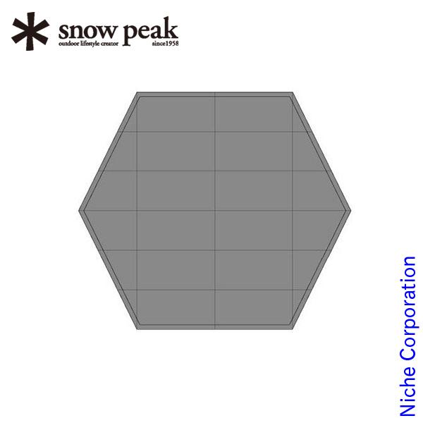 スノーピーク ランドベース6 フロアマット TM-626 snow peak スノーピーク キャンプ用品 テント タープ