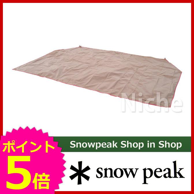 スノーピーク ランドロック用グランドシート [ TP-670-1 ] Land Lock Grandsheet [ スノー ピーク ShopinShop | オートキャンプ テント タープ 関連品| キャンプ用品| SNOW PEAK ][P5]