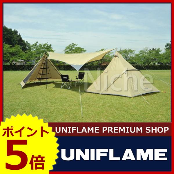 ユニフレーム REVOルーム4プラス 680896 [P5] キャンプ用品