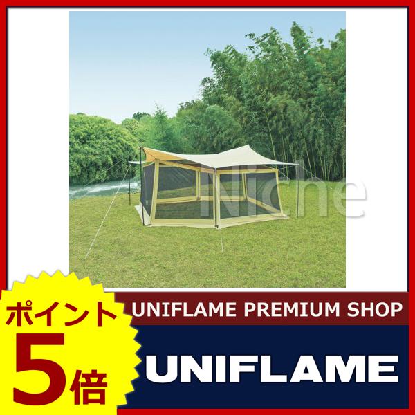 ユニフレーム REVOメッシュウォール(L) 681664 [P5] キャンプ用品