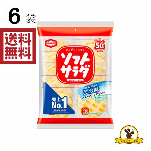 亀田製菓 亀田 ソフトサラダ 20枚×6袋 評価 販路先行品 超安い