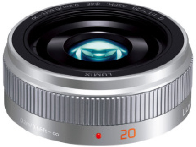 【納得の3年保証付き】[PANASONIC]LUMIX G 20mm F1.7 II ASPH. シルバ-