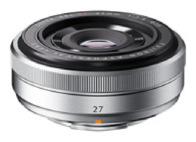 【納得の3年保証付き】[FUJIFILM]XF27mm F2.8 シルバー