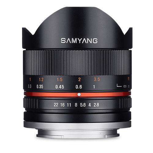 [SAMYANG]8mm F2.8 UMC Fish-eye II (ソニーE用) ブラック