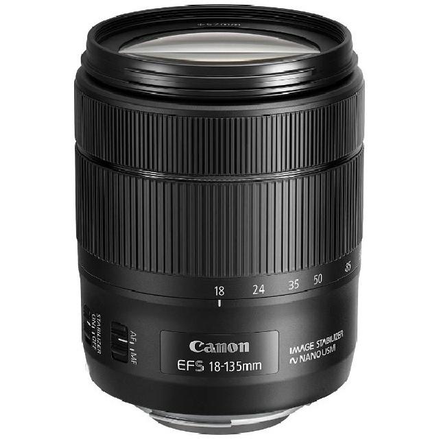 【納得の3年保証付き】[CANON]EF-S18-135mm F3.5-5.6 IS USM