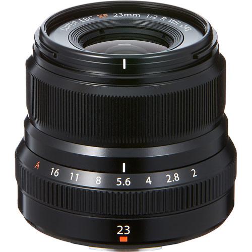 【納得の3年保証付き】[FUJIFILM]XF23mmF2 R WR ブラック