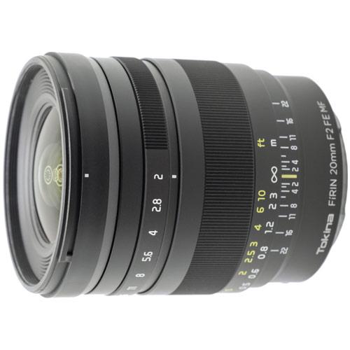 【納得の3年保証付き】[トキナー]FiRIN 20mm F2.0 FE MF ソニーE用/フルサイズ対応