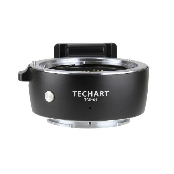 [TECHART]TCS-04 マウントアダプター(レンズ側:キヤノンEFマウント→カメラ側:ソニー Eマウント)