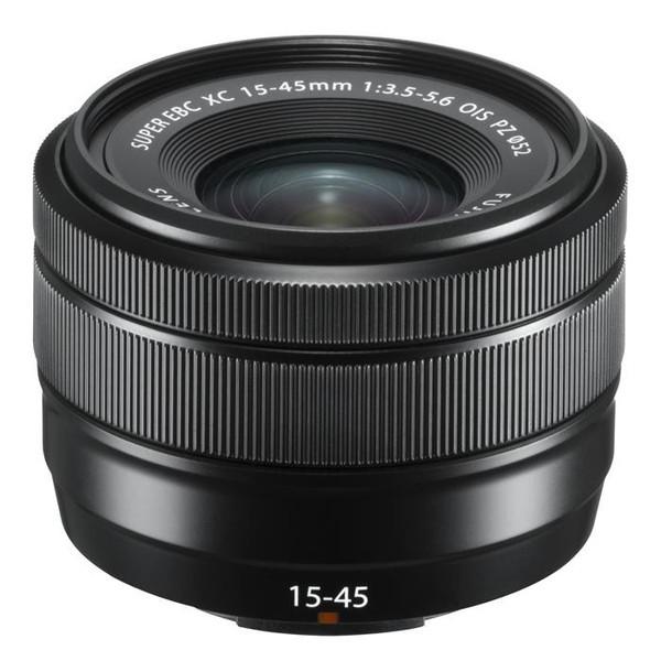 【納得の3年保証付き】[FUJIFILM]XC15-45mmF3.5-5.6 OIS PZ ブラック