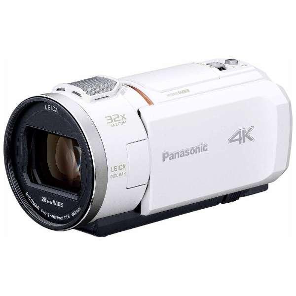 【納得の3年保証付き】[PANASONIC]HC-VX1M-W ホワイト