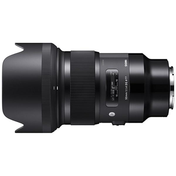 【納得の3年保証付き】[シグマ] 50mm F1.4 DG HSM Art ソニー Eマウント用