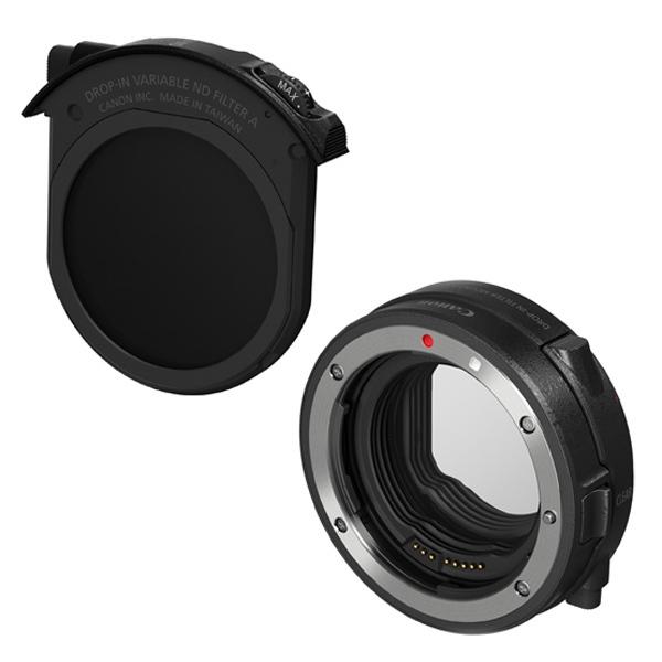 [Canon]ドロップインフィルターマウントアダプターEF-EOS R ドロップイン可変式NDフィルターA付き(2月下旬発売予定)