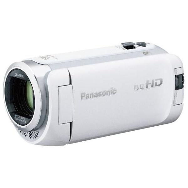 【納得の3年保証付き】[PANASONIC]HC-W590M-W ホワイト