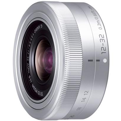 3年延長保証付[PANASONIC]LUMIX G VARIO 12-32mm/F3.5-5.6 ASPH./MEGA O.I.S.シルバー