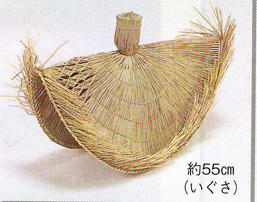 【踊 祭り用品】鳥追笠 踊り用小道具・踊り笠 八木節 よさこい 日本舞踊 3132