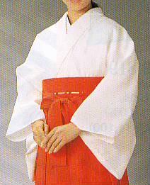 巫女用白衣 白衣(巫女用) 典印862