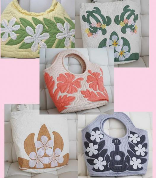 ☆ TV drama was working hours had my art ☆ lucky bag Hawaiian quilt! Large bag 2 pieces ( market price more than 15000 Yen! )