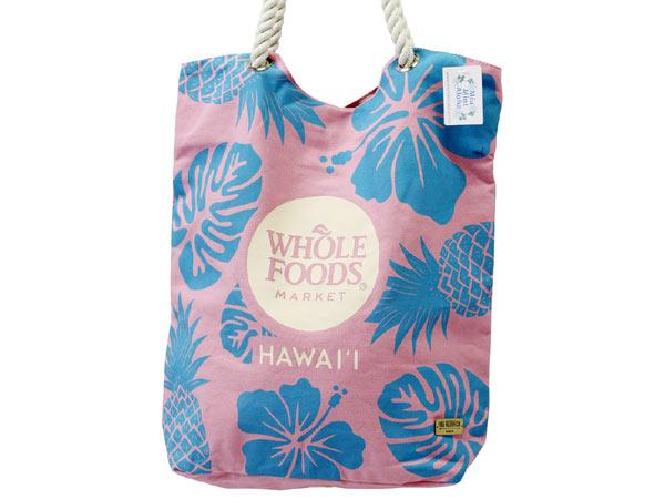 【ハワイにて買い付けてきました!】【whole foods market】【ハワイ限定】ホールフーズマーケット大人気のエコバッグ