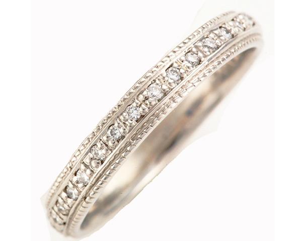 ★プラチナ900★女性用結婚指輪ダイヤマリッジリング