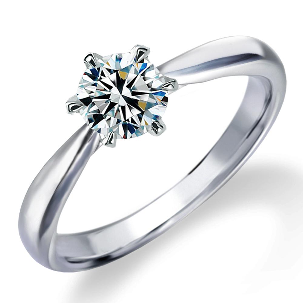 婚約指輪 送料無料 鑑定書付 一粒ダイヤ プラチナ ダイヤ リングミワホウセキ エンゲージリング ダイヤモンド トリプルエクセレントカット 通販 VVS1 0.3カラット 期間限定 プロポーズ リング美しい Dカラー