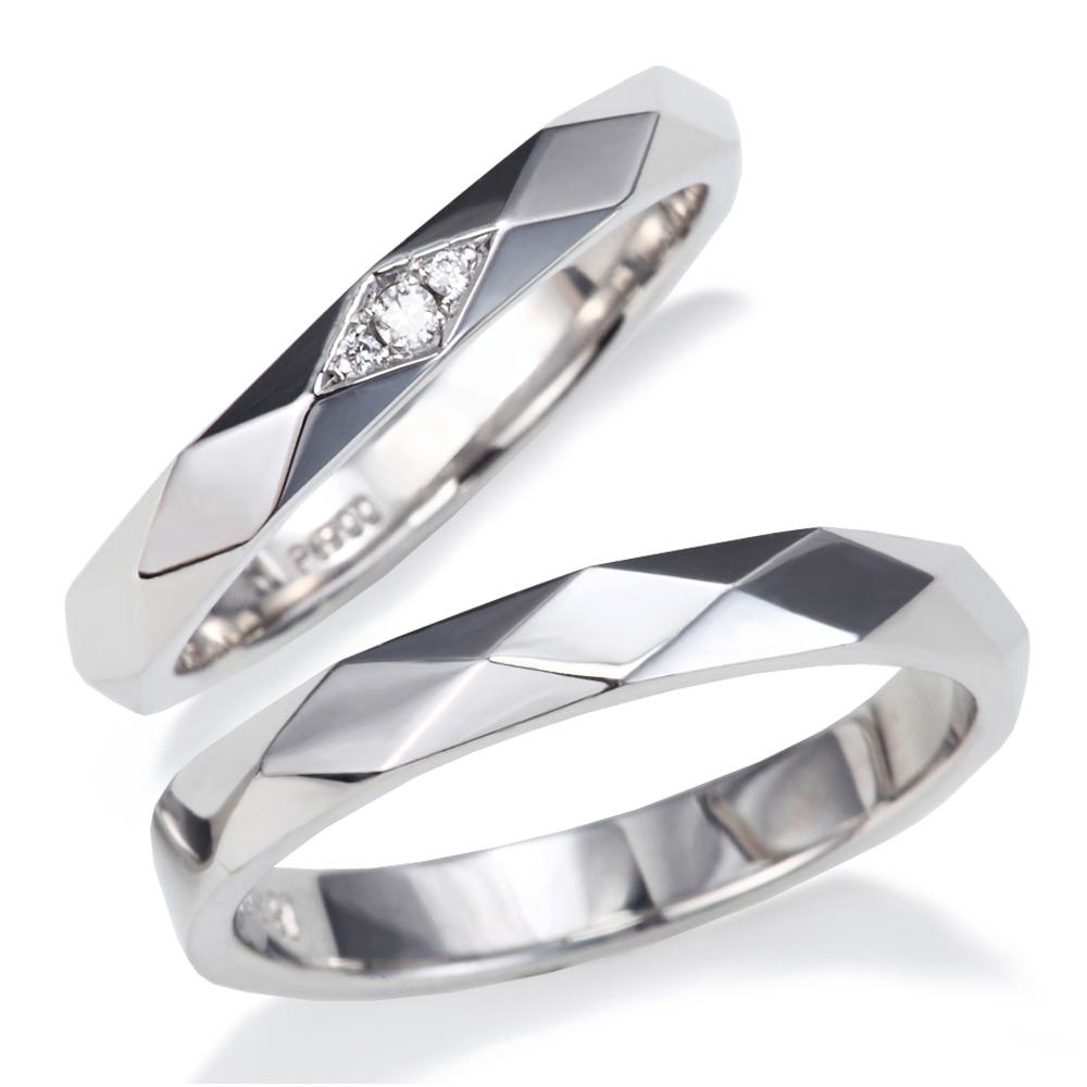 人気のカットラインデザイン プラチナ 結婚指輪 送料無料新品 マリッジリング ペア 美輪宝石 miwahouseki サイズ直し1回 無料対応付き 人気の 900 デザイン ダイヤモンド 文字入れ無料 1年以内1回サイズ直し無料対応付き お買得 カットライン ミワホウセキ 送料無料
